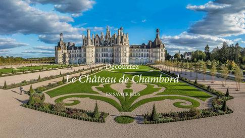 Chateau de Chambord jardins st parterre
