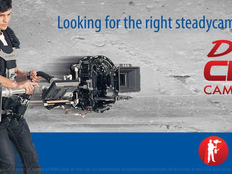 Best camera stabilizer for Red and ARRI Alexa digital cinema cameras
