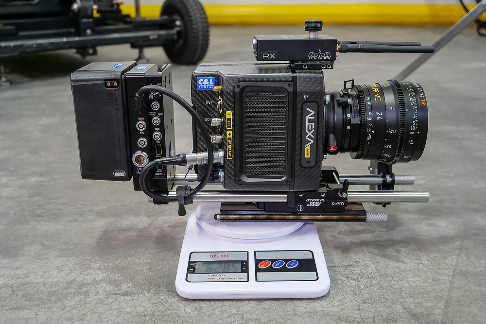 Arri Alexa mini camera weight in kilograms, for 3 axis gimbal Dji Ronin or Freely Movi vs 8 axis Hybrid gimbal camera stabilizer Basson steady Endless 3