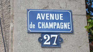Avenue de Champagne Epernay