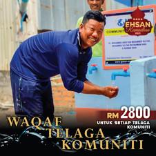 Waqaf Telaga Komuniti (10 Ramadhan Terak