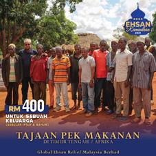 PEK MAKANAN RAMADHAN ASIA BARAT/AFRIKA