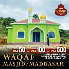 Waqaf Masjid & Madrasah (10 Ramadhan Ter