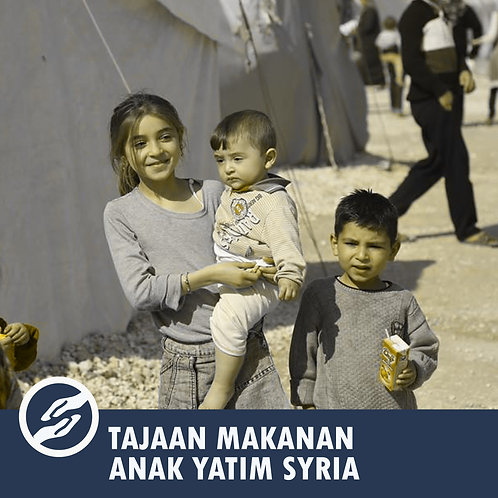 Care For Syria - Pakej Anak Yatim