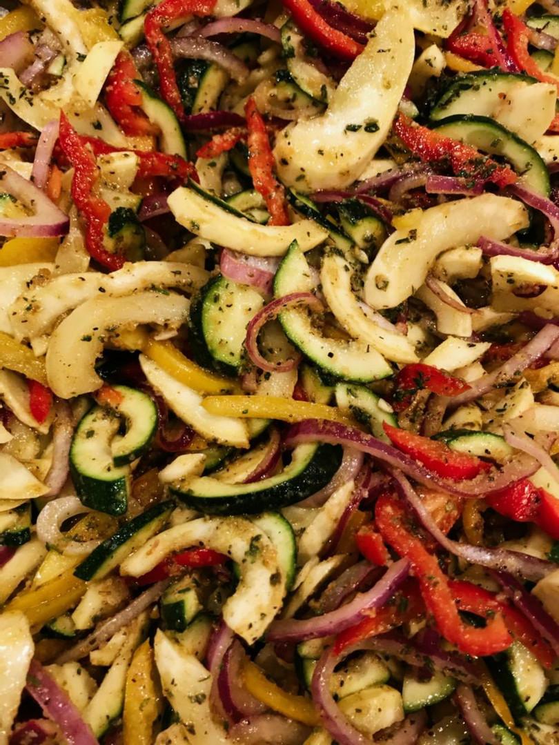 Dials Catering signature seasoned Vegetable Medley