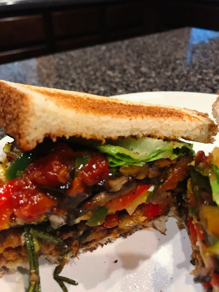 The Dial's Way Veggie Burger