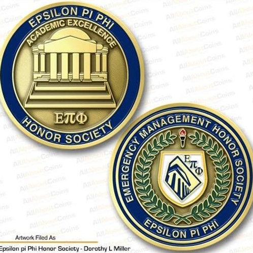 Epsilon Pi Phi Challenge Coin
