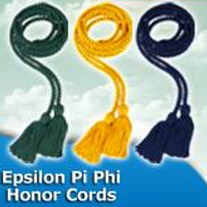 Epsilon Pi Phi Honor Cords