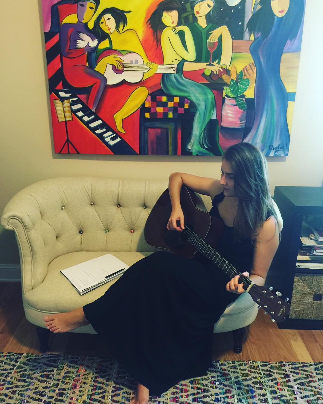 Paula Bast's EP Pre Production