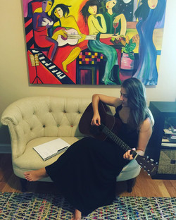 Paula Bast's EP Pre Production