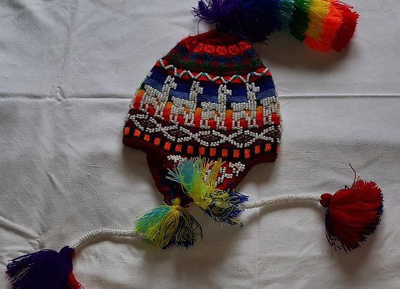 GORRO BOLIVIANO INFANTIL