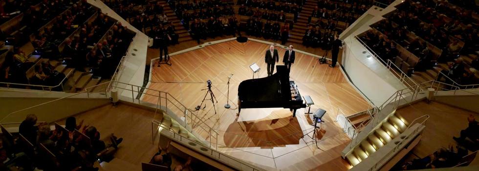 Liederabend at Philharmonie Berlin