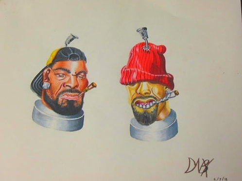 Celebrity Spray Cans: Method Man & Red