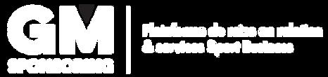 Logo GM Sponsoring - Plateforme de mise
