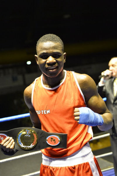 Bengoro SAMBA - Champion de France boxe anglaise