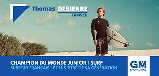 Thomas Debierre sponsoring