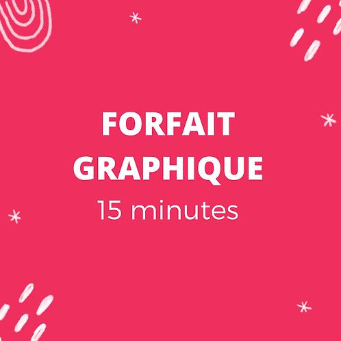 Forfait graphique 15 minutes