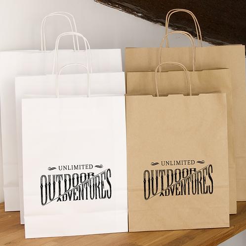 400 sacs publicitaires papier