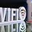 Thumbnail: Lettre et logo PVC : blanc ou noir satin