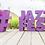Thumbnail: Lettre et logo polystyrène : 28 couleurs au choix