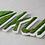Thumbnail: Lettre et logo végétal naturel : mousse des bois sur PVC