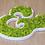 Thumbnail: Lettre et logo végétal : lichen des caribous sur PVC