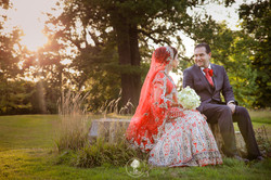 Asian wedding in Bedfordshire