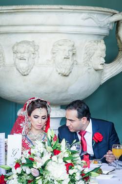Asian wedding in Sculpture Gallery