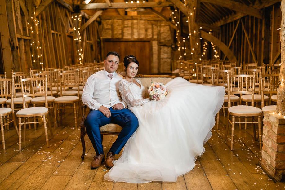 Bassmead Manor Barns wedding - Zoë & Glenn