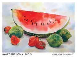 Watermelon & Limes