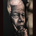 nelson mandela-tattoo-jammestattoo-studi