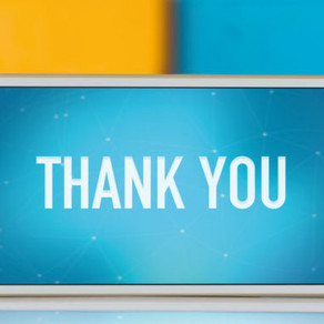 """A little """"Thank You"""" goes a long way"""