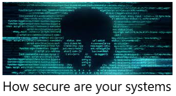 Cybersecurity - are you sorted?