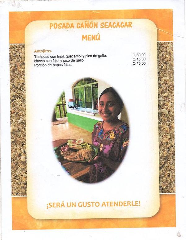 Menú-Restaurante-Seacacar