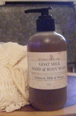 Goat Milk Hand & Body Wash