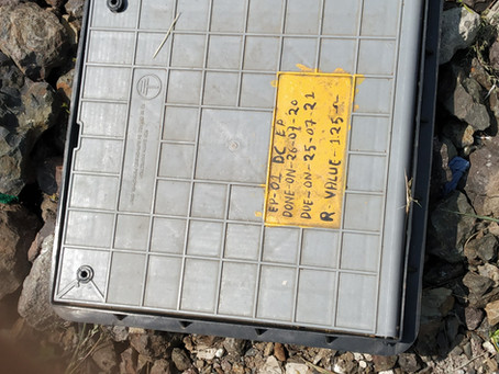 LOAD PLATE INDICATOR simple questions  - #earthing,#lightning protection