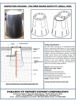 05 - Polymer Round Earth Pit - Small Siz