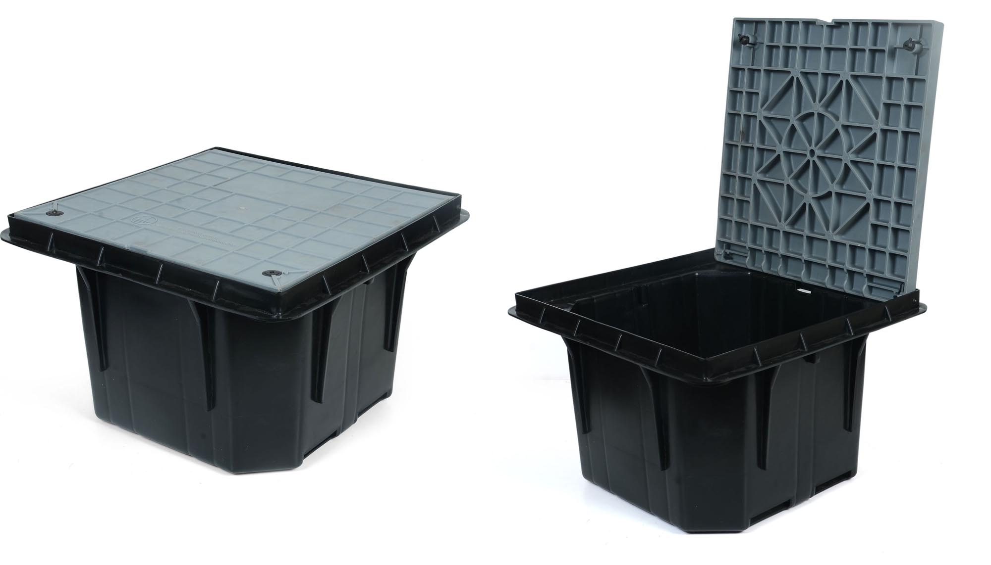 02 SQUARE POLYMER EARTH PIT - BIG