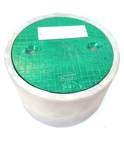 ROUND CONCRETE WITH C I COVER 01