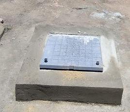 installation of PEP B 200 , #earthpit ,