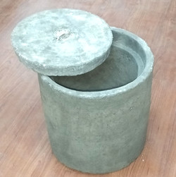 round concrete earth pit,#electrical,#ea