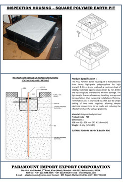 01 - Polymer Square Earth Pit