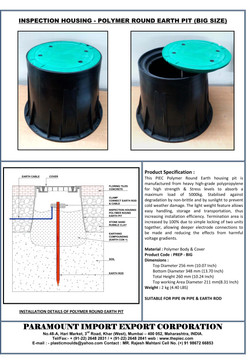 04 - Polymer Round Earth Pit - Big Size.