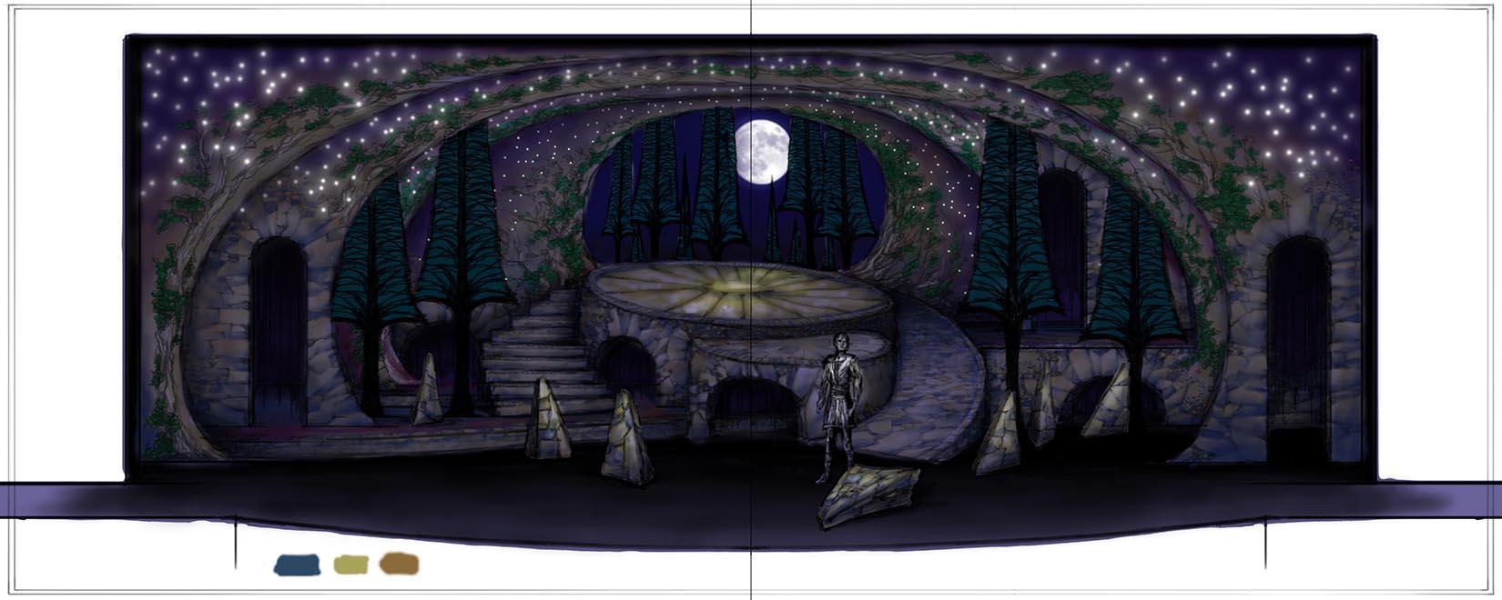 Scene Sketch #3