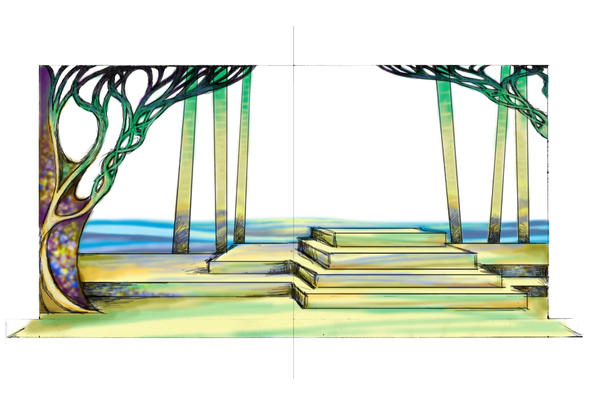 ONCE ON THIS ISLAND: Color Rendering