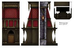 Fireplace, Side Views