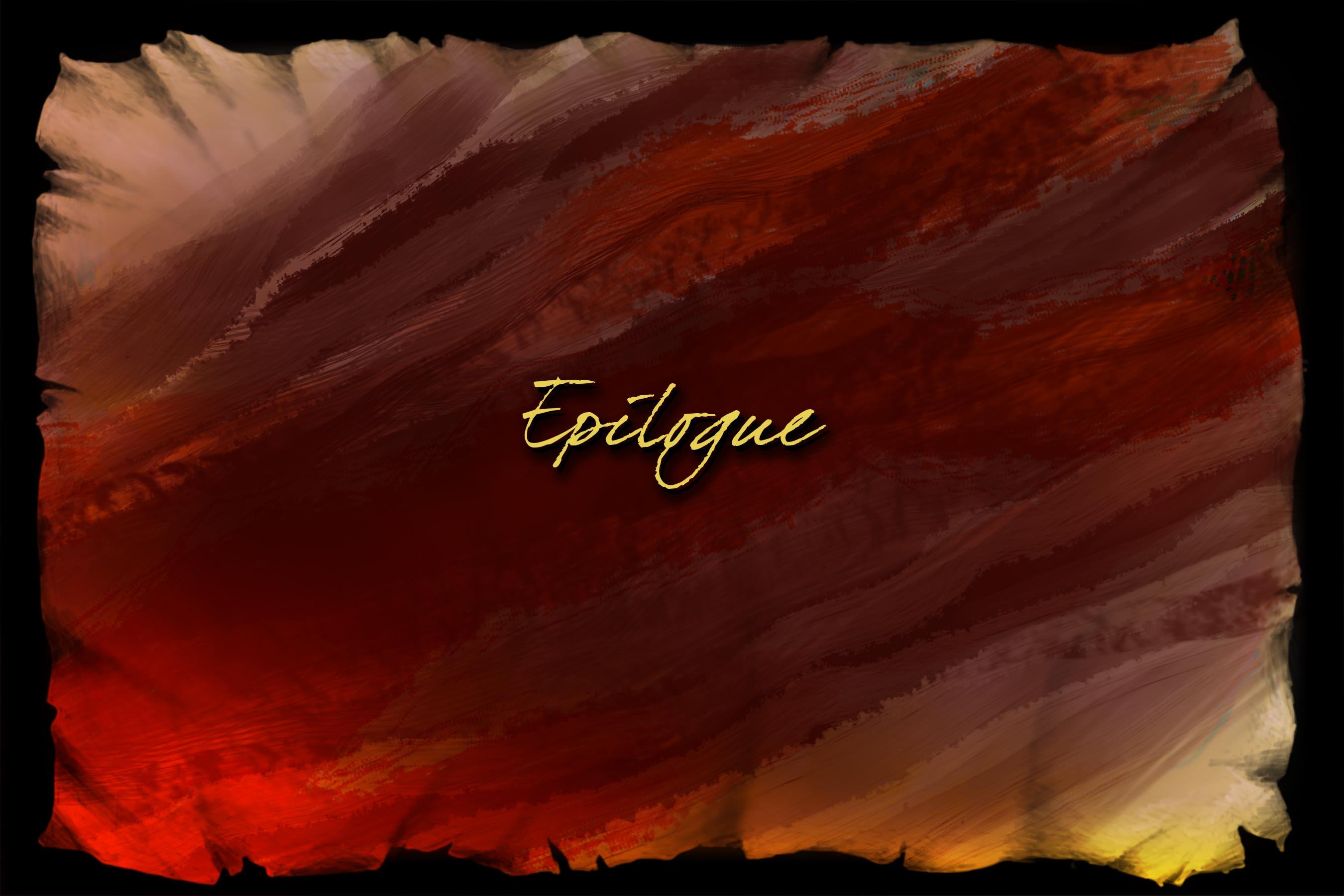 Scene 7. Epilogue