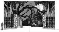I.1.Addams Family Graveyard