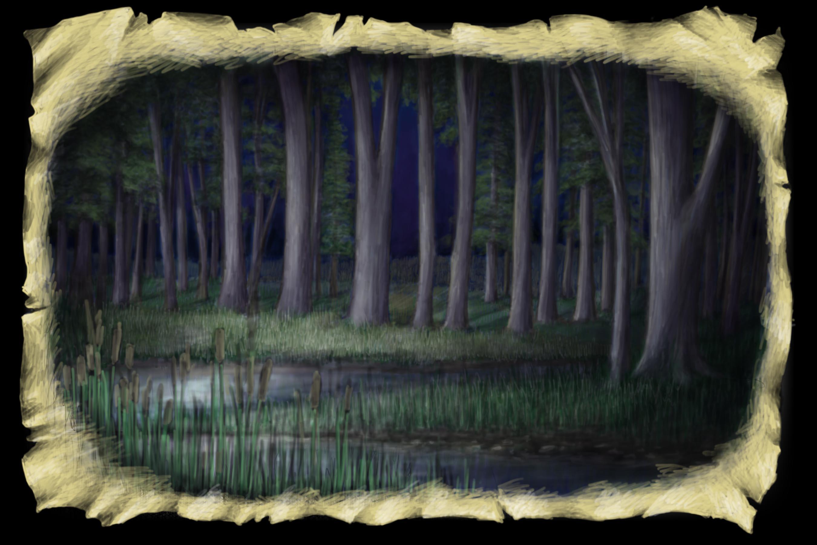 Scene 5. Lake, Nighttime
