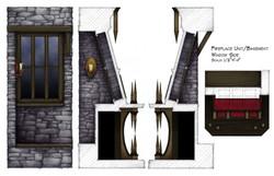 Fireplace (Window Views)
